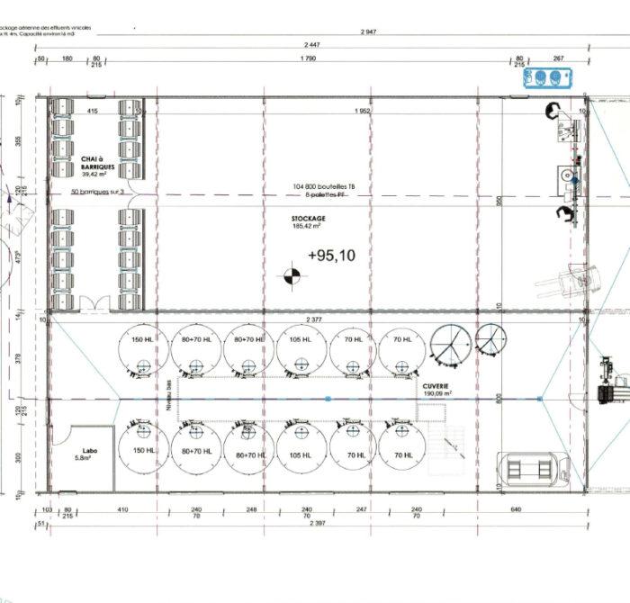 plan ingénierie Château des LYS